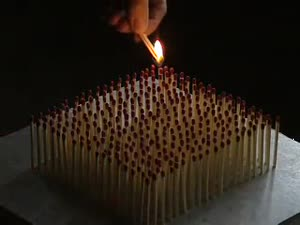 ნახეთ რამდენი სანთელია:O