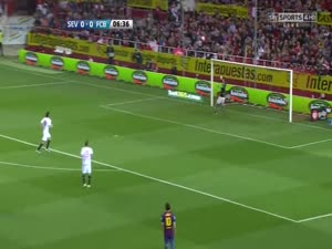 Sevilla FC Vs FC Barcelona 0-2 All Goals