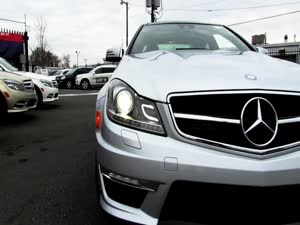 2012 Mercedes-Benz C63 AMG Coupe Start Up, Exhaust, and In Depth Tour