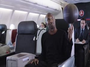 მესი და კობი ბრაიანტი Turkish Airlines-ის რეკლამაში ..ყველამ ნახეთ