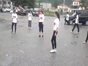 flashmob in martvili