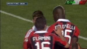 US Pescara vs AC Milan (0-4) First Half Serie A Highlights Official HD [08-05-13].mp4