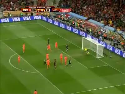 FIFA World Cup 2010 Final Match Highlights