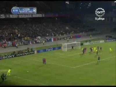 Juninho's free kick Goal FC Barcelona