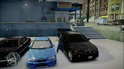 GTA IV Snow Mod (My Gameplay #3) No happy end + თამაშის ლინკი