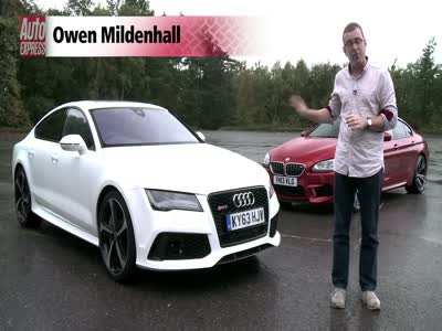 BMW M6 Gran Coupe vs Audi RS7