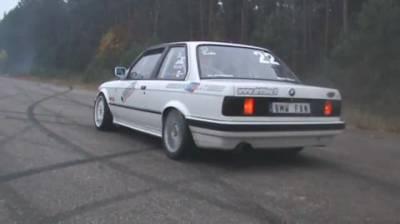 BMW e30 Turbo 3 Gear Start
