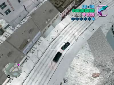 GTA Vice City (new) superman mod + snow mod + parkour mod + blood obsession mod