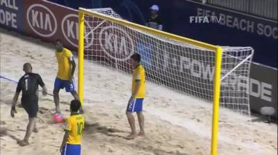 WOW! Brazil get dose of their own medicine