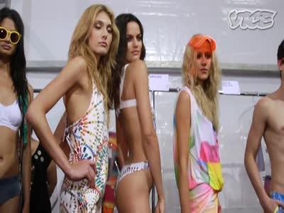 რიო ფეშენ ვიქი Rio Fashion Week - Ass Shaking and Transsexual Supermodels