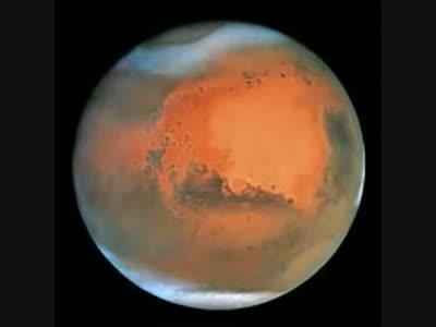 მარსი წითელი პლანეტა არა სინამდვილეში ის დედამიწასავითაა
