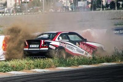 Drift Crash at RIM (ხმალაძე VS სარიშვილი)