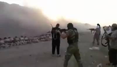 სასწრაფოდ: სირიელმა ამბოხებულებმა ასადის 250 ჯარისკაცი დახვრიტეს