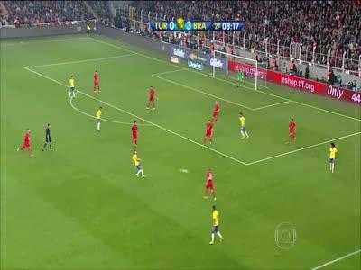 თურქეთი 0:4 ბრაზილია ვილიანის ფინტი