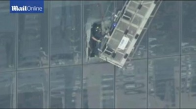 Workers rescued after dangling from World Trade Center