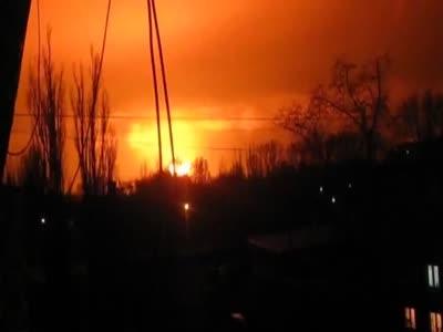 В Донецк прогремел! Мощнейший взрыв! 08 02 2015