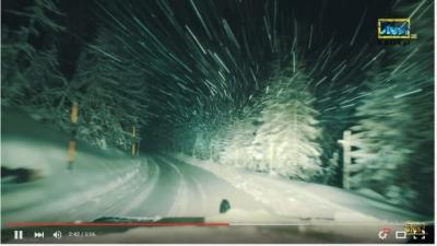 DOLOMITES Italy 4x4 Winter (4K) Ultra HD Timelapse, Landscapes, Off road , skiing Dolomiti KB4x4.pl