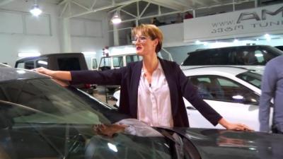 თიკა ფაცაციას ექსკლუზიური ავტომობილი www.AM.ge