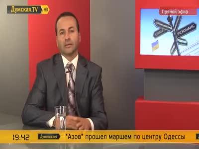 Михаил Саакашвили - Думская.TV