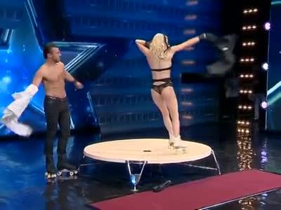 Dangerous Roller Skaters In Georgia Got Talent