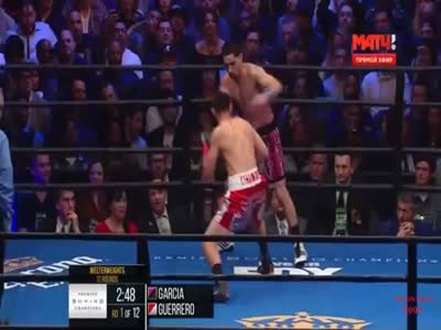BOXING - 2016-01-23 - Division welterweight -  VACANT - WBC World welterweight title  - Danny Garcia vs. Robert Guerrero / Дэнни Гарсиа vs Роберт Герреро - Staples Center, Los Angeles, California, USA.