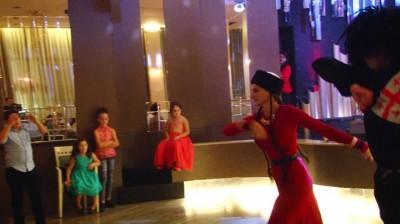 ქართული ცეკვა ქორწილში მიქსი