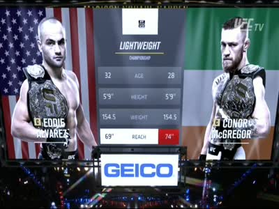 Eddie Alvarez vs Conor McGregor UFC 205 Part 2 MMA Video