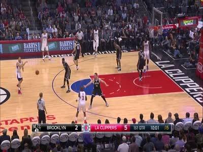 Clippers Cruise Past the Nets | Chris Paul, Blake Griffin, DeAndre Jordan