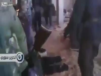 Сирия ...вооруженные людиговорящие по-русски..
