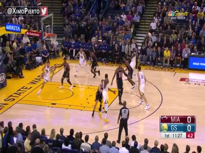 Miami Heat vs Golden State Warriors Full Game Highlights November 6, 2017 2017-18 NBA Season
