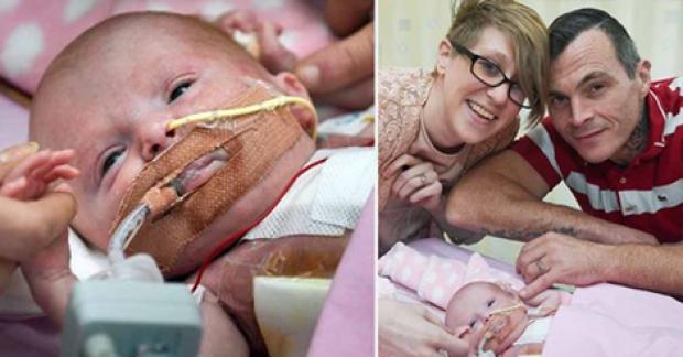 ბრიტანეთში ბავშვი დაიბადა, რომელსაც გული გარეთ ჰქონდა