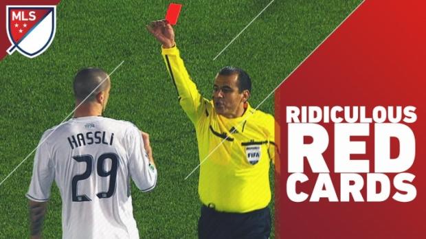 ყველაზე კურიოზული წითელი ბარათები MLS-ში