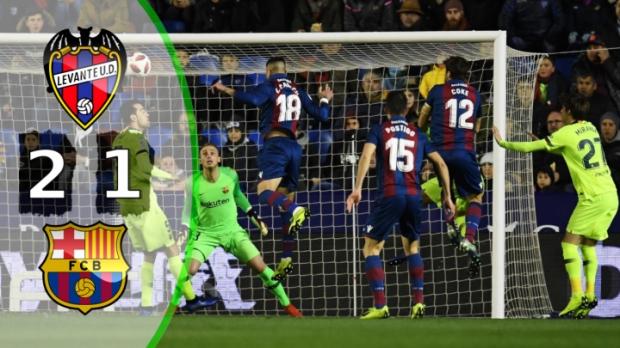 ლევანტე 2-1 ბარსელონა | სრული მიმოხილვა | Copa Del Rey.