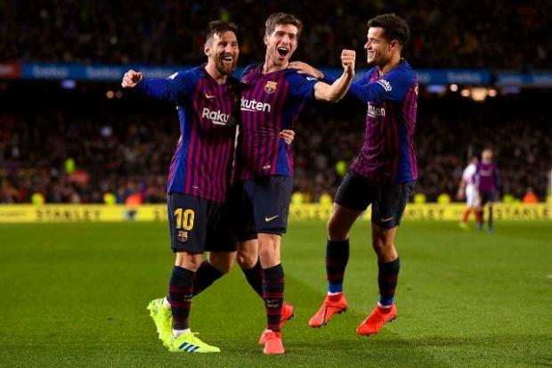 ბარსელონა - სევილია 6:1 მიმოხილვა Copa Del Rey 1/4 ფინალი