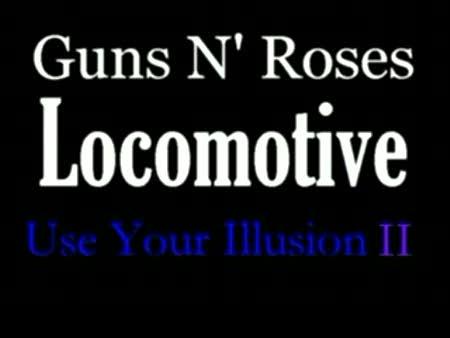 guns n roses locomotive - MYVIDEO