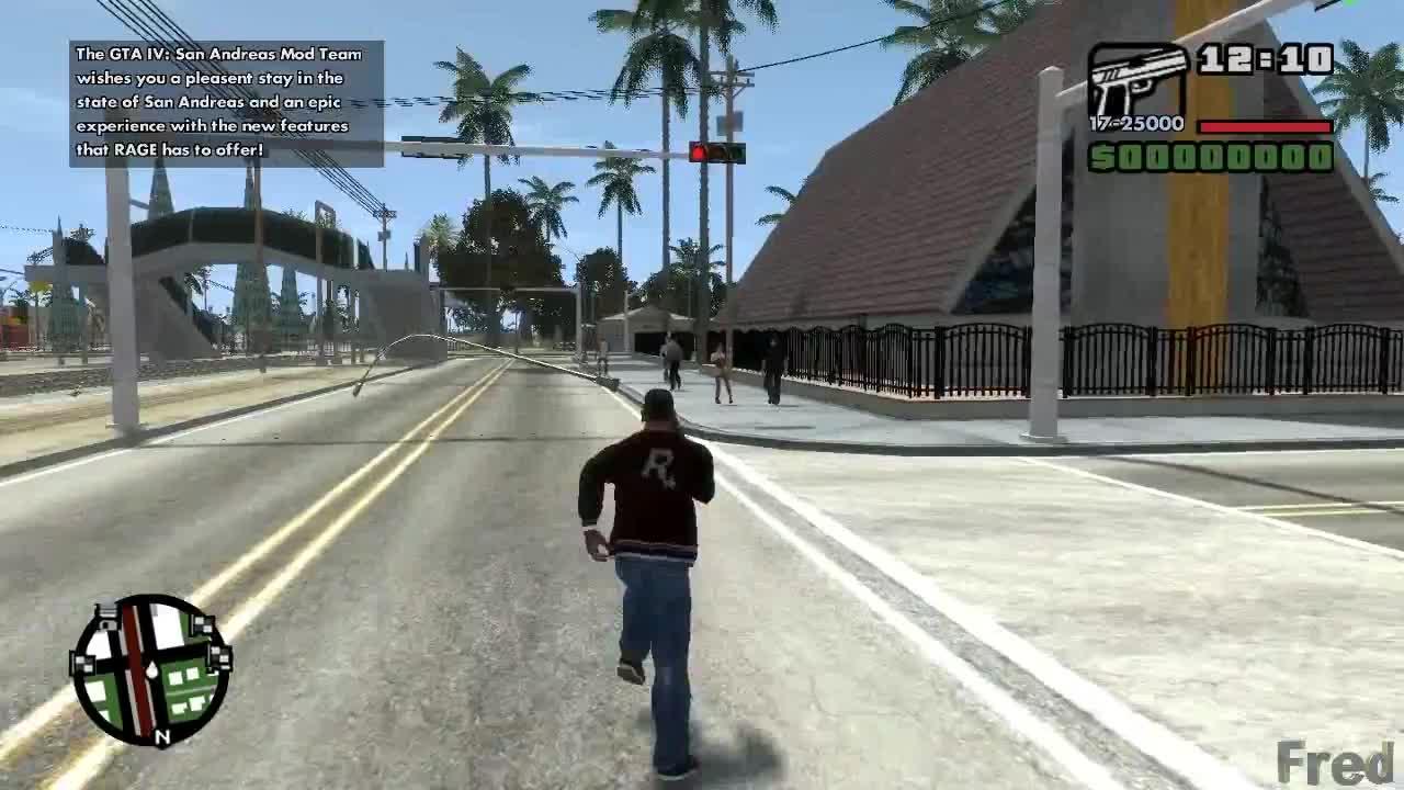 GTA IV San Andreas Beta 3 World Enhancement - Ped paths \o