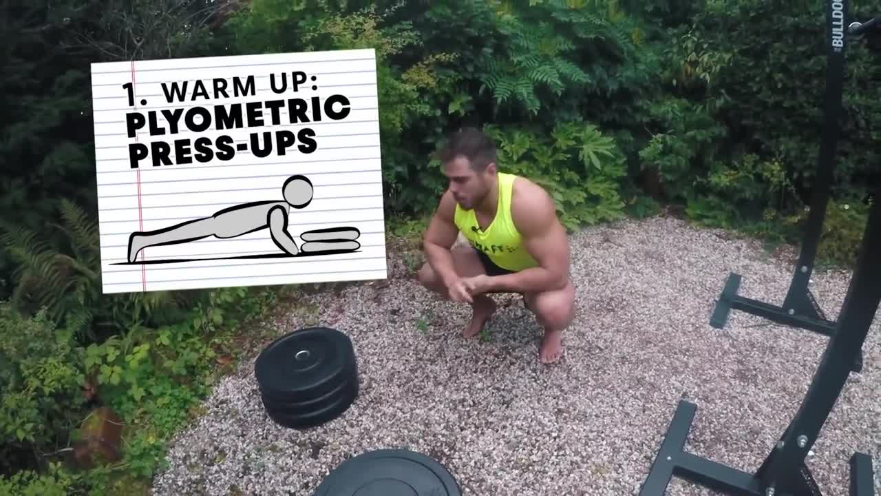 CAMERAMAN learns 4 essential strength training exercises