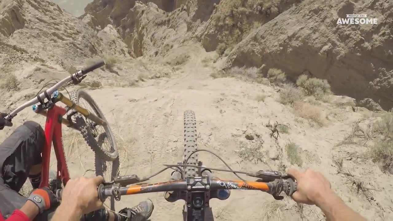 Image result for mountain bike downhill pov